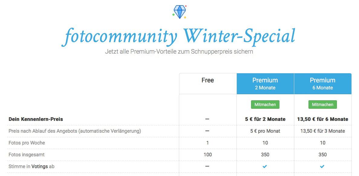 Das fotocommunity Winter Spezial