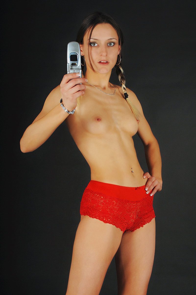 Sportliches Posing - Mausmaler