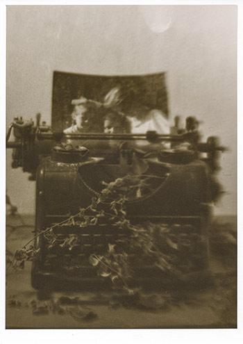 Die Lichtbildschreibmaschine des Photalchemist Lichtbildpoet