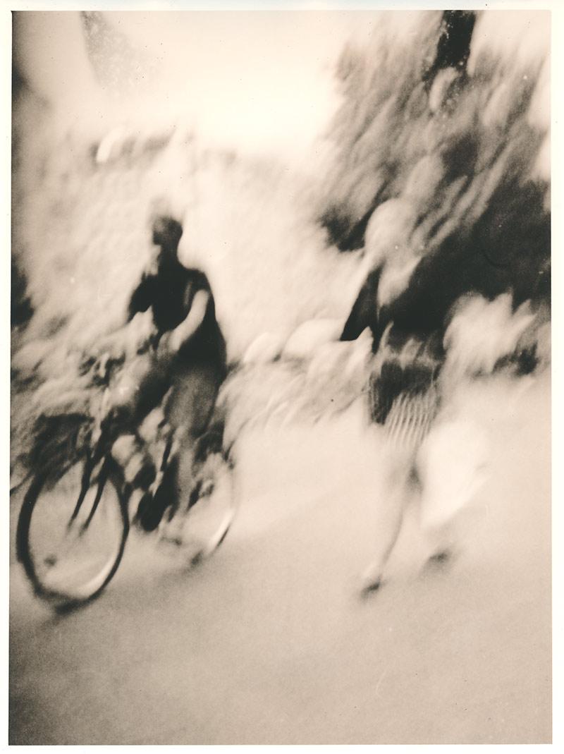 Dank an die Radfahrer, als Fussgänger den Fussweg mitbenutzen zu dürfen