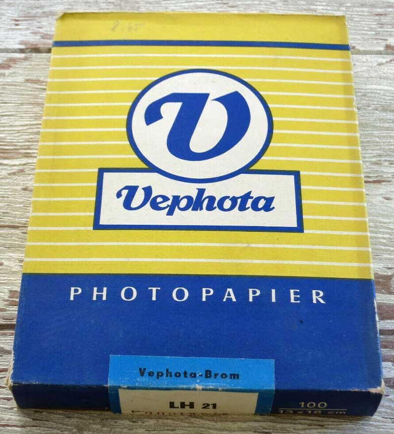 Vephoto Fotopapier - erworben auf ebay
